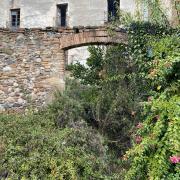 Estado anterior entrada patio Masía