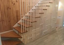 Núcleo de escaleras